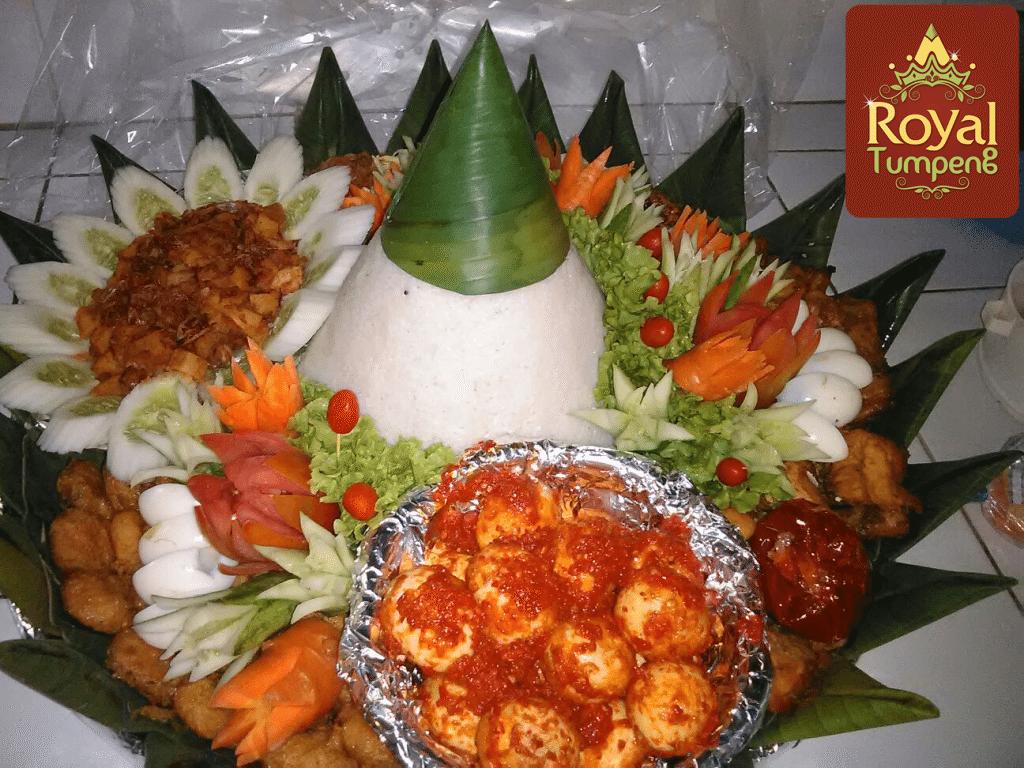 pesanan nasi tumpeng ibu riri di bintaro jaya jakarta selatan
