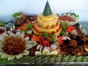 Pesanan Nasi Tumpeng Ibu Anjani di Grogol, Jakarta Barat
