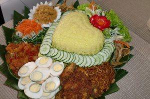 Pesanan Nasi Tumpeng Hati Bapak Wawan di Senayan, Jakarta Selatan