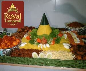 Pesanan Nasi Tumpeng Ibu Mia di Cempaka Mas, Jakarta Pusat