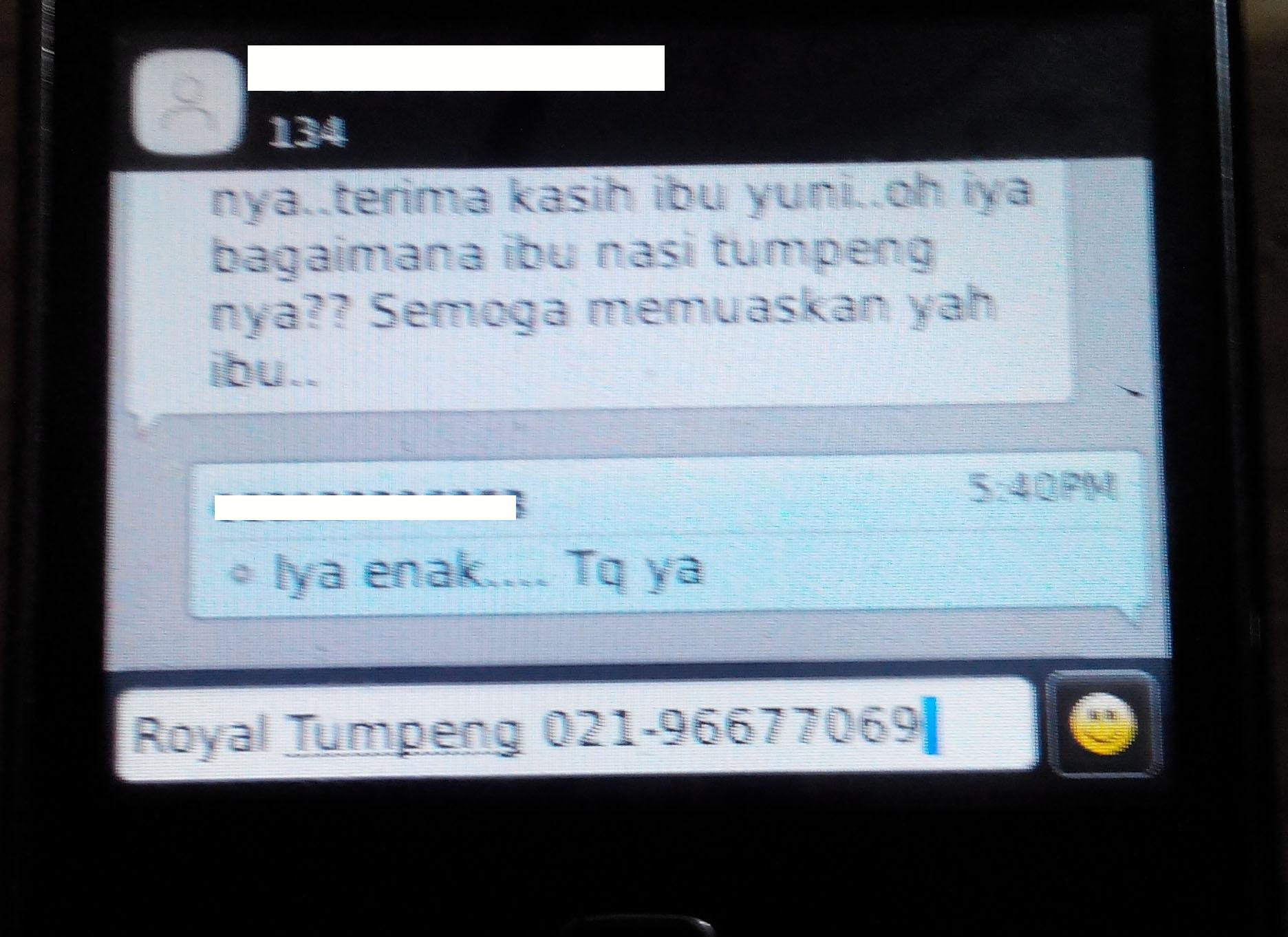 Testimony Pesanan Ibu Yuni di Pasar Baru, Jakarta Pusat