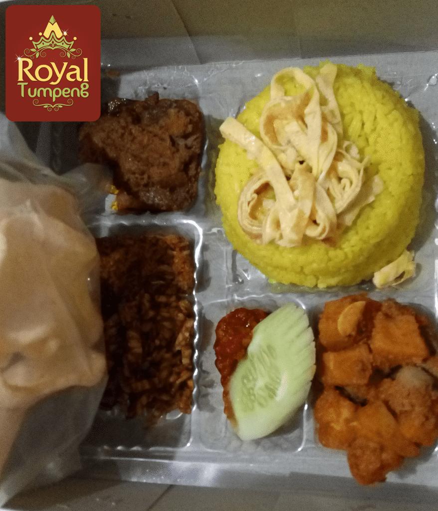 nasi box royaltumpeng   pesan antar jual beli