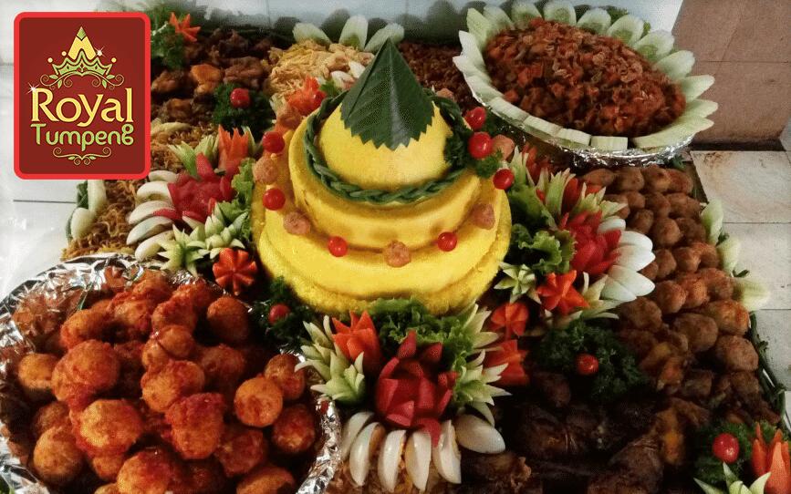 Nasi Tumpeng Pesanan Ibu Isma di Lippo Cikarang, Bekasi