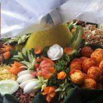 Nasi Tumpeng Pesanan Ibu Erika di Sentul , Bogor