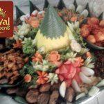 Nasi Tumpeng Pesanan Ibu Astuty untuk Pak Subandy di Tangerang , Banten