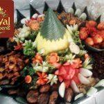 Pesanan Nasi Tumpeng Pak Yasser untuk Ibu As di Pasar Minggu , Jakarta Selatan