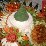 Nasi Tumpeng , Nasi Box dan Bubur Merah dan Putih pesanan Ibu Wilma di Cinere , Jakarta Selatan