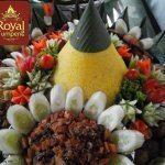 Nasi Tumpeng Pesanan Ibu Xiaoyun di Sudirman , Jakarta Selatan