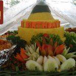 Pesanan Nasi Tumpeng Pak Apheng untuk Ibu Santi di Tanjung Duren , Jakarta Barat