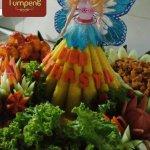 Nasi Tumpeng Pesanan Ibu Riezka di Kemang , Jakarta Selatan