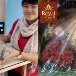 Pesanan Nasi Tumpeng Pak Rendy Untuk Ibu Erline di Kelapa Gading , Jakarta Utara