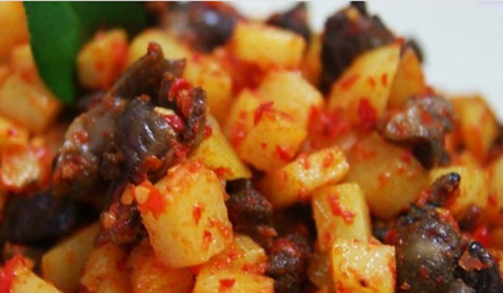 Resep sambel goreng kentang hati ampela