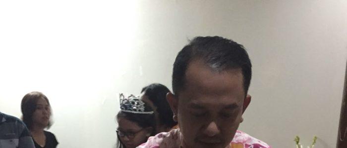 Pesanan Nasi Tumpeng Hijau dan Nasi Tumpeng Kuning Mini Ibu Cynthia Jayanto di Bekasi