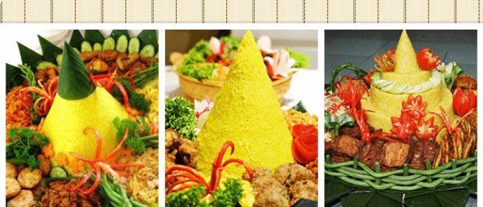 Pesan Nasi Tumpeng di Lapangan Banteng Jakarta Pusat untuk Ulang Tahun