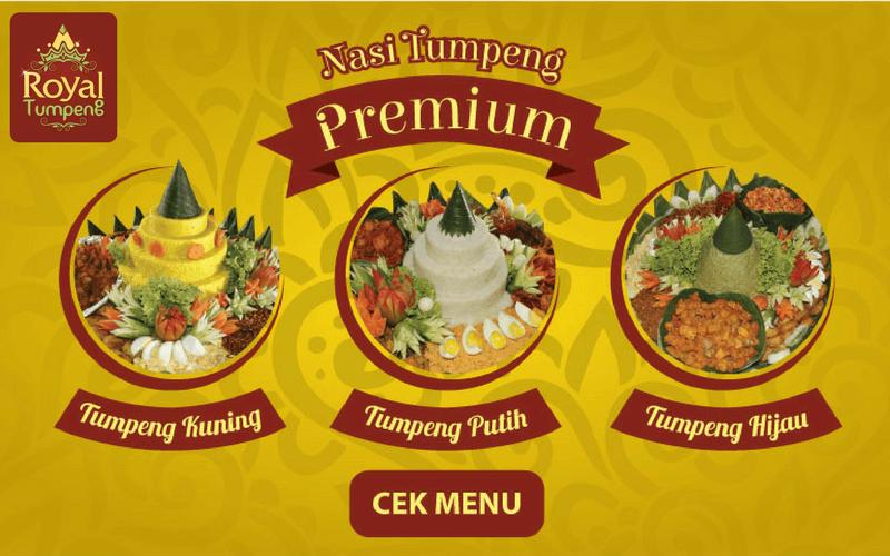 Pesan Nasi Tumpeng di Medan Merdeka Selatan dan Barat Jakarta Pusat