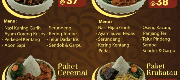 Nasi Tumpeng Mini di Jakarta