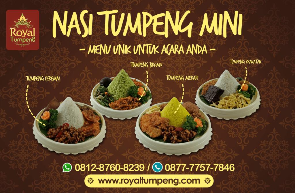 Nasi Tumpeng Mini di Jakarta Barat