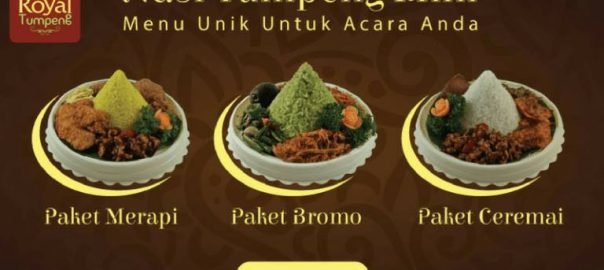 Nasi Tumpeng Mini di Jakarta Selatan