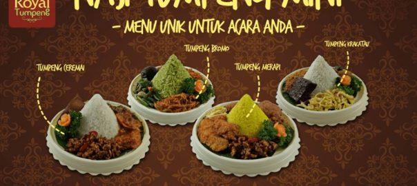 Kreasi Nasi Tumpeng Mini