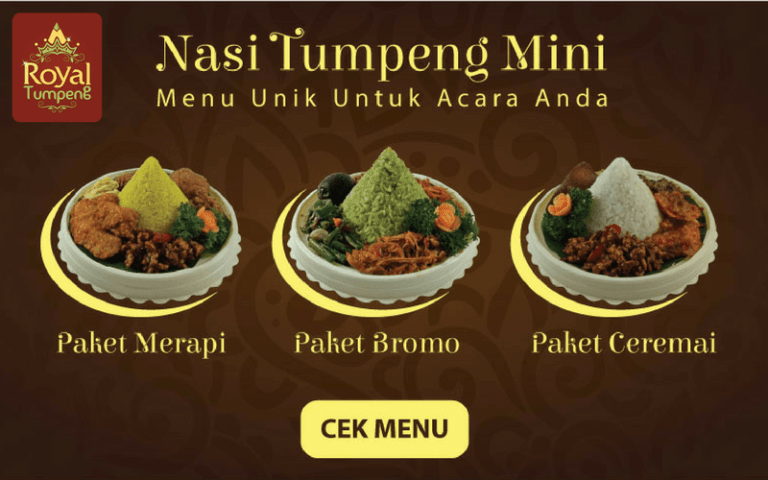 Nasi Tumpeng Mini Anak