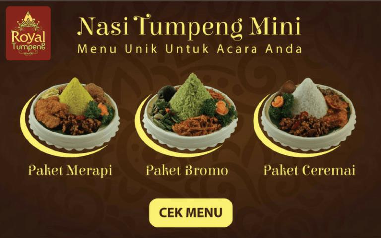 Nasi Tumpeng Mini Depok