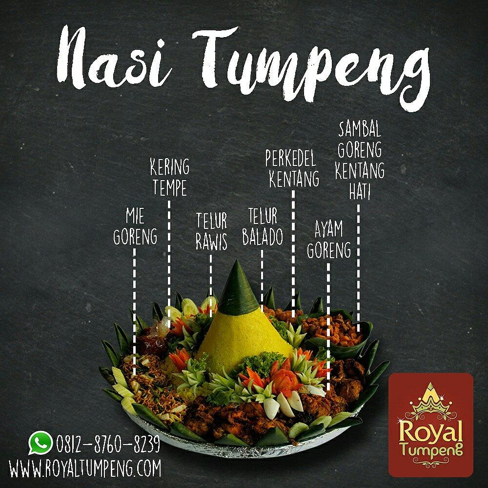 Nasi Tumpeng Hias untuk Lomba Hari Kartini