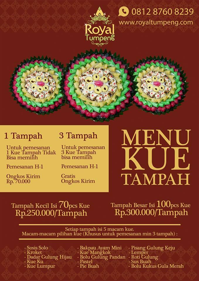 Jual Kue Tampah Jakarta