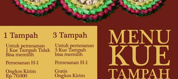 Pesan Kue Tampah di Jakarta