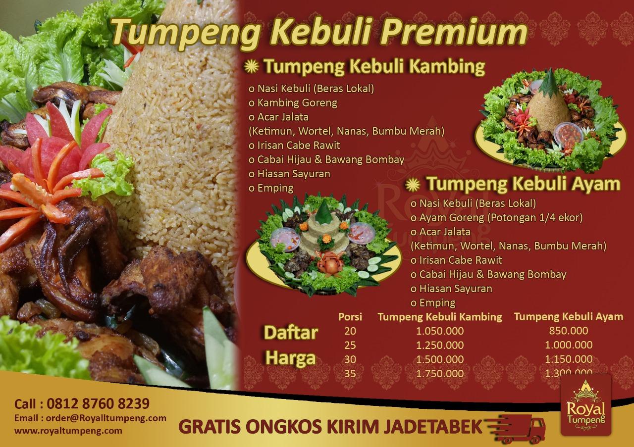 Nasi Kebuli ⋆ Tumpeng Mini Jakarta