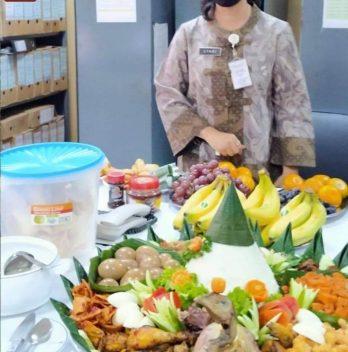Pesan Nasi Tumpeng di Halim Perdana Kusuma